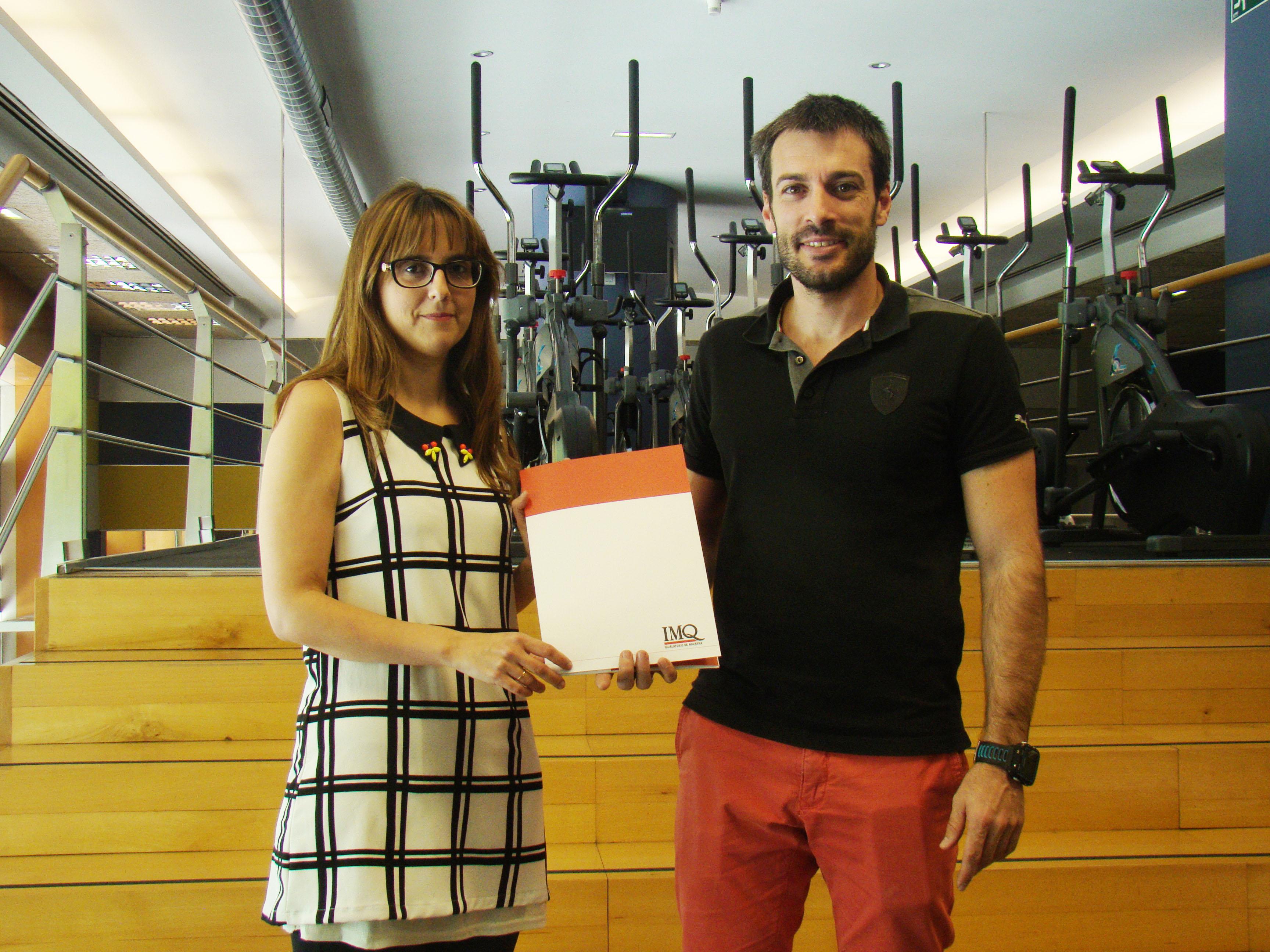 IMQ Navarra y PlanetFitness Pamplona firman un acuerdo de colaboración para ofrecer a los socios del gimnasio una cobertura sanitaria de calidad